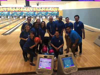 Company Mix Accountants Bowl-A-Thon in East Hanover