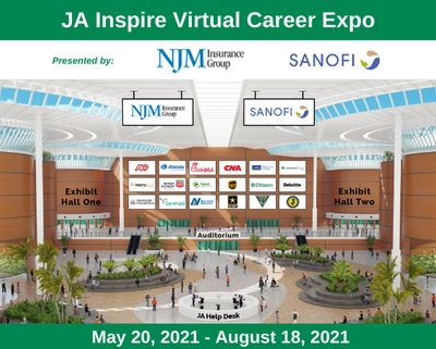 JA Inspire Virtual Career Expo 2021